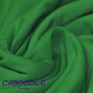 Grass Green - Cotton Lycra Jersey Knit Fabric