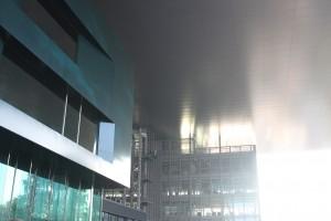 Untersich des KKL-Dachs