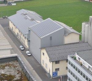 Photovoltaikanlage Reismühle Brunnen