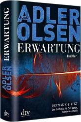 Brillant: Erwartung von Jussi Adler-Olsen (Copyright Cover: Deutscher Taschenbuchverlag. Verwendung mit freundlicher Genehmigung)