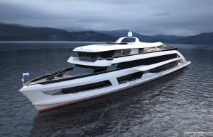 So soll das neue Flaggschiff der SGV dereinst aussehen (Copyright Fotomontage: SGV)