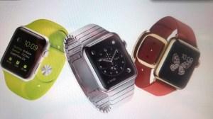 Erscheint in drei Modellen: Die Apple Watch
