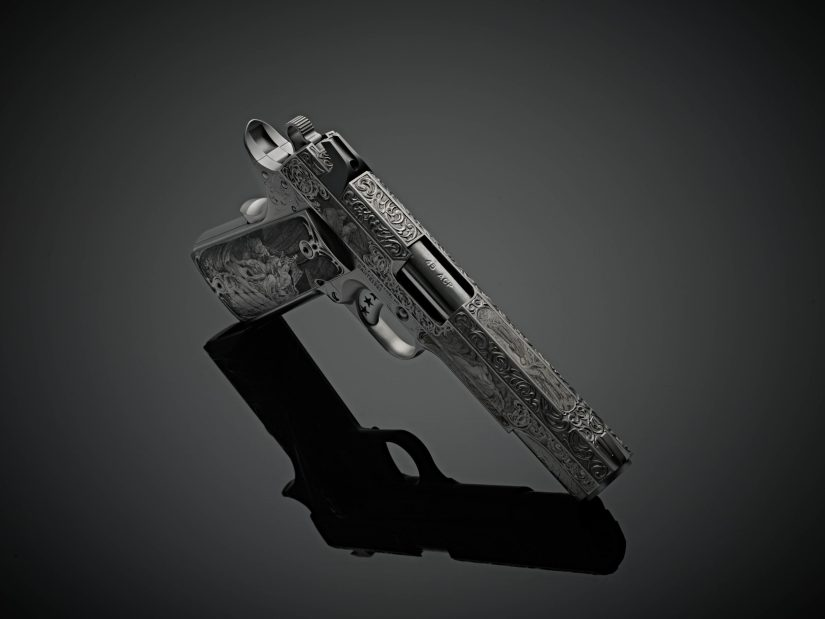 Dante's Inferno Engraved Custom 1911