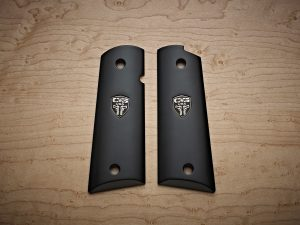 EBONY SMOOTH 1911 GRIPS
