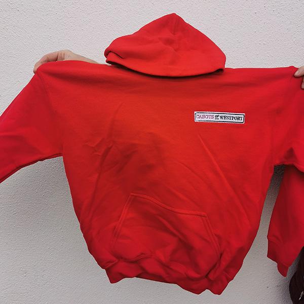 cabots logo fleece