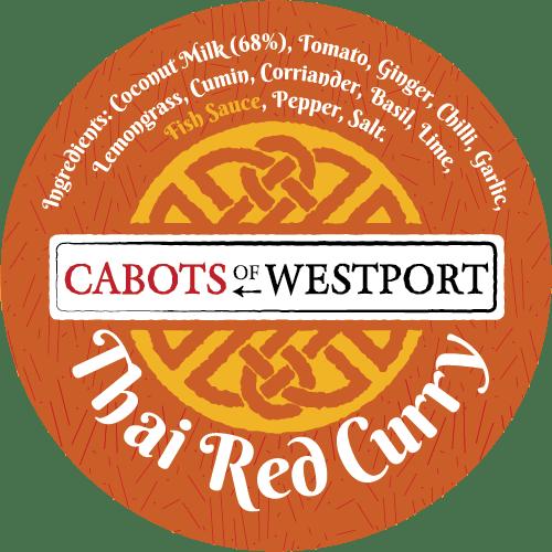 curry sauce pot label