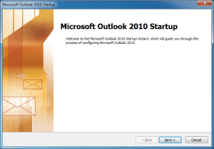 Iniciar Outlook