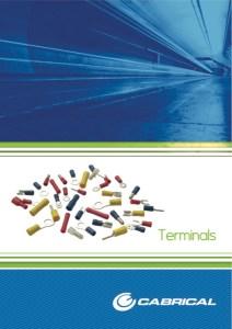 Terminals. Catalogue. Red, Blue, Yellow Terminals.