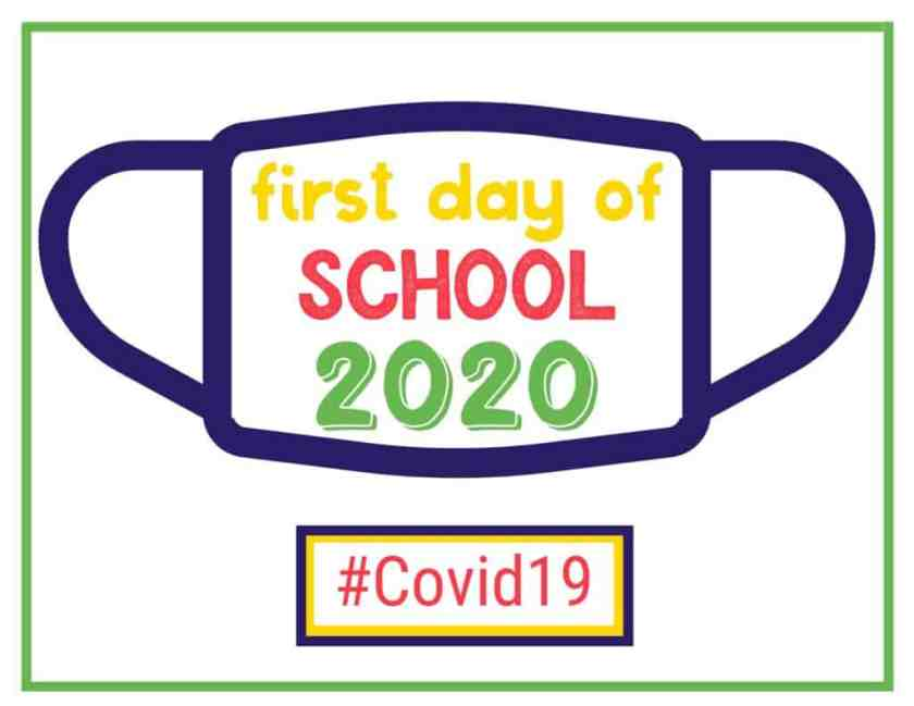 First Day of School Covid19