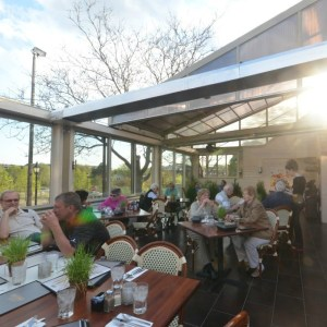 Eden Avenue Grill (The Hilltop) and their year round patio