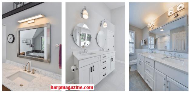Bathroom Mirrors Ideas One or Two Bathroom Mirrors - Cabritonyc.com