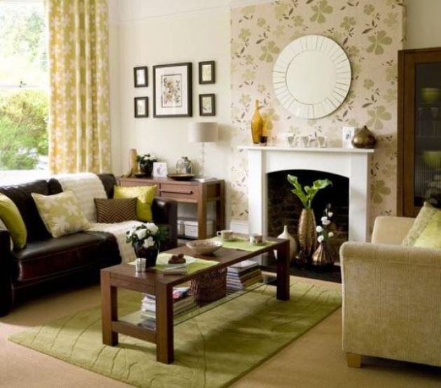 Gorgeous Accent Walls With Floral Designs A- Cabritonyc.com