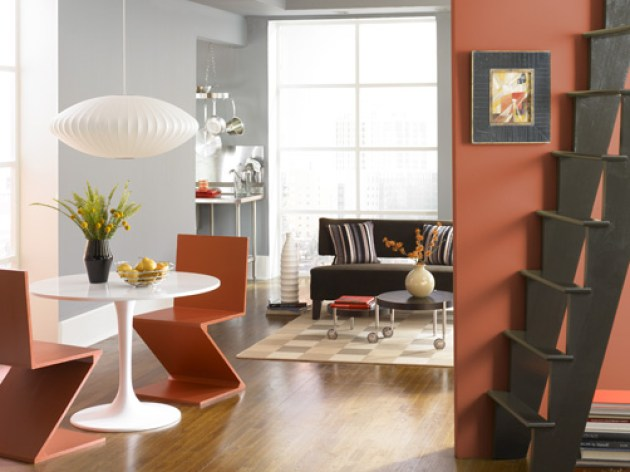 Accent Wall Ideas - Working with Your Existing Colors - Cabritonyc.com