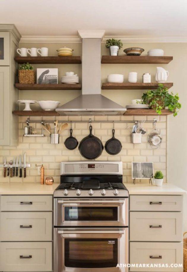 Farmhouse Kitchen Decor Design Ideas - Farmhouse Color Scheme Soft Silver White and Wood - Cabritonyc.com
