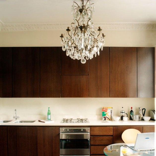 Kitchen Lighting Ideas - Add A Statement Chandelier - Cabritonyc.com