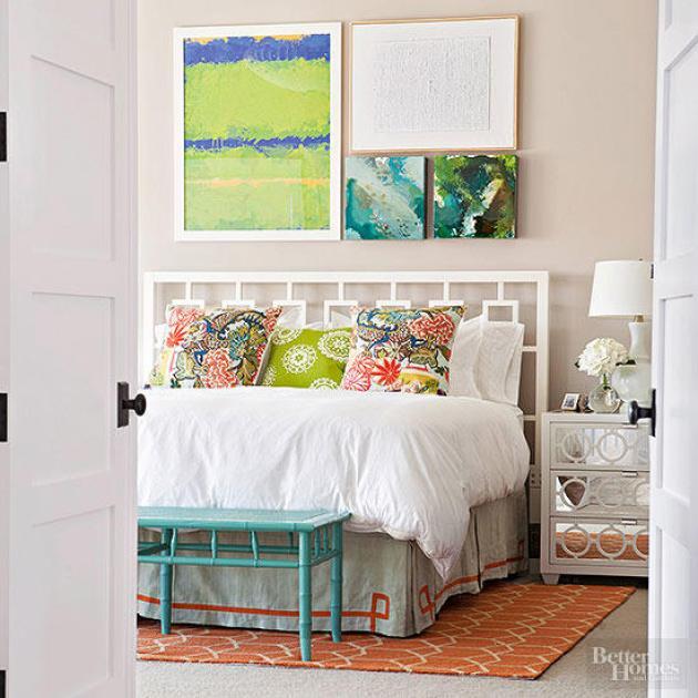 Modern Master Bedroom Decor Ideas - Calm Yet Colorful - Cabritonyc..com