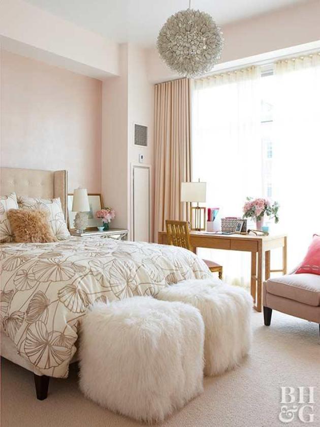 Top 10 Master Bedroom Decor Ideas - Pretty in Pink - Cabritonyc.com