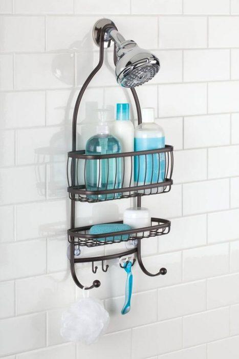 Bathroom Organizing Ideas 1 Hanging Shower Caddy