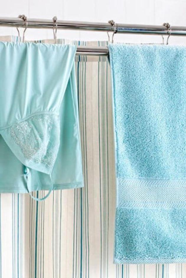 Bathroom Organizing Ideas 20 Double Rod
