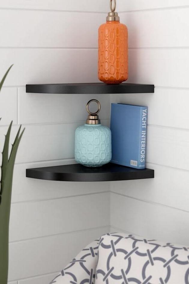 Bathroom Organizing Ideas 4 Corner Shelves