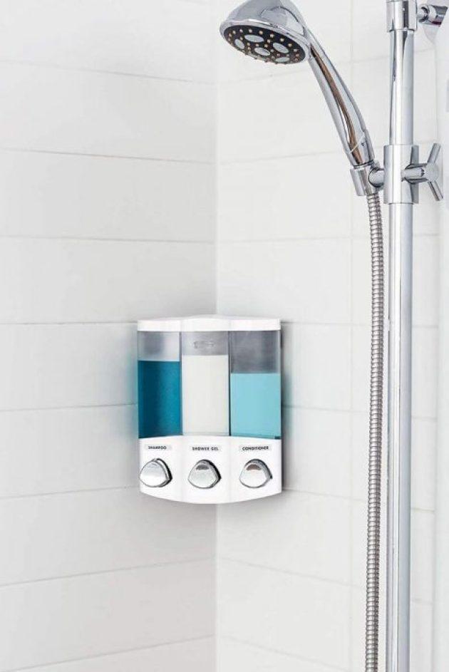 Bathroom Organizing Ideas 7 Shower Dispenser