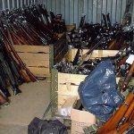 De vangst van een wapencontrole. @Bosnië.