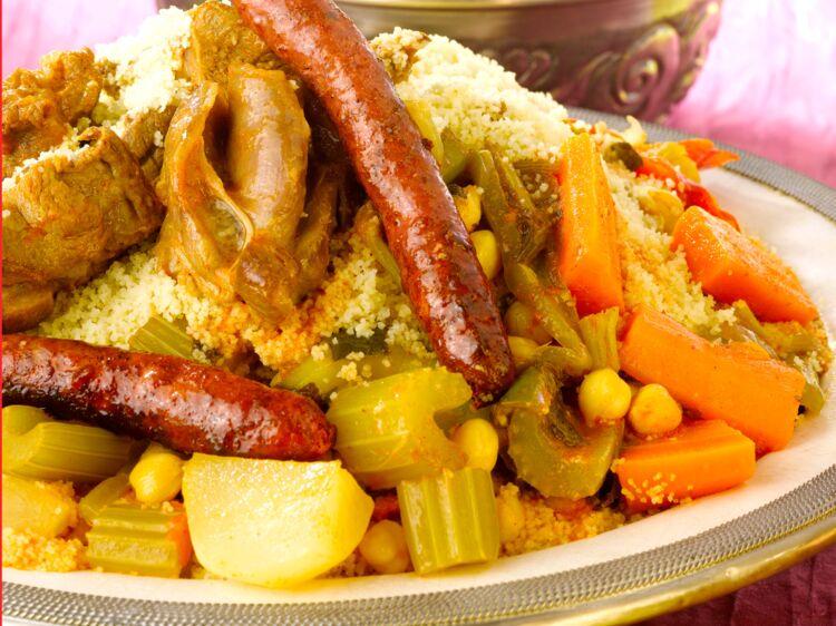 Couscous royal marocain facile  dcouvrez les recettes de Cuisine Actuelle