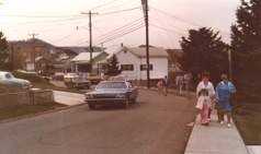 Parade march to new building, Easter Sunday, March 26, 1978