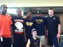 Zach-Miracle-68-Zach-with-WVU-Basketball-Team-at-HealthSouth-2012-07-19