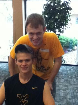 Zach-Miracle-73-Zach-with-Rusty-at-HealthSouth-2012-07-19