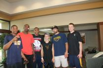 Zach-Miracle-77a-Zach-with-WVU-Basketball-Team-at-HealthSouth-2012-07-19