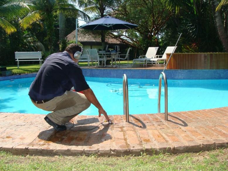 Caça Vazamento de piscina