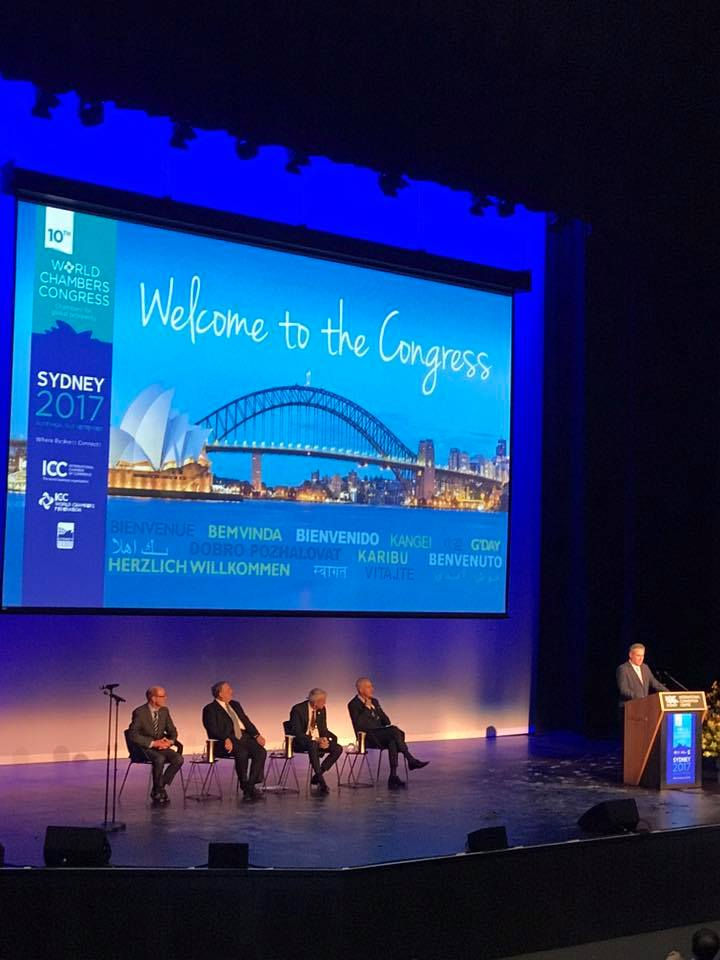 Delegação da CACB inicia atividades no 10th WCC, em Sydney, na Austrália
