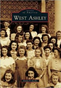 Author Donna F. Jacobs was talking about the history of West Ashley and her book