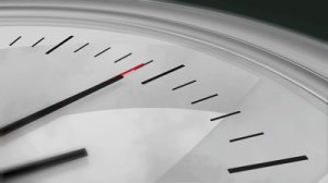 stock-footage-three-dimensional-close-up-animation-of-a-chrome-clock-ticking-high-definition-p