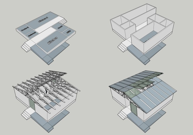 Design using simple geometries