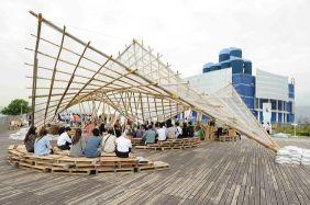 Bamboo Scaffolding Pavilion