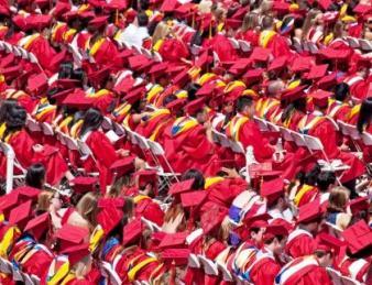 Graduates at Stony Brook University