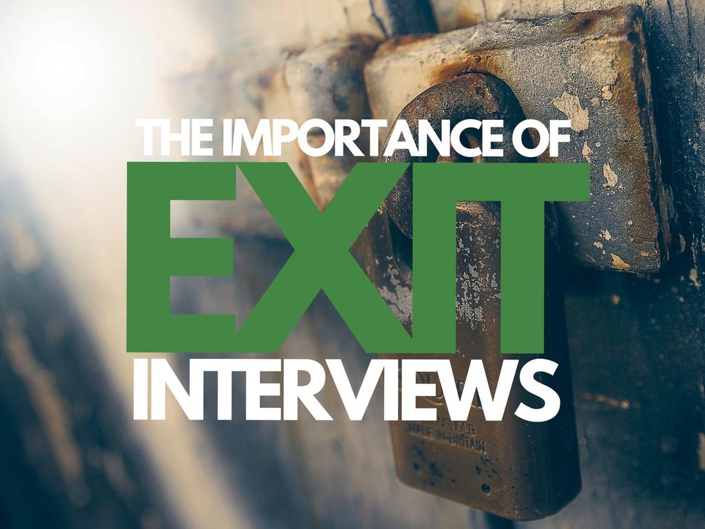 Exit Interview Takeaways