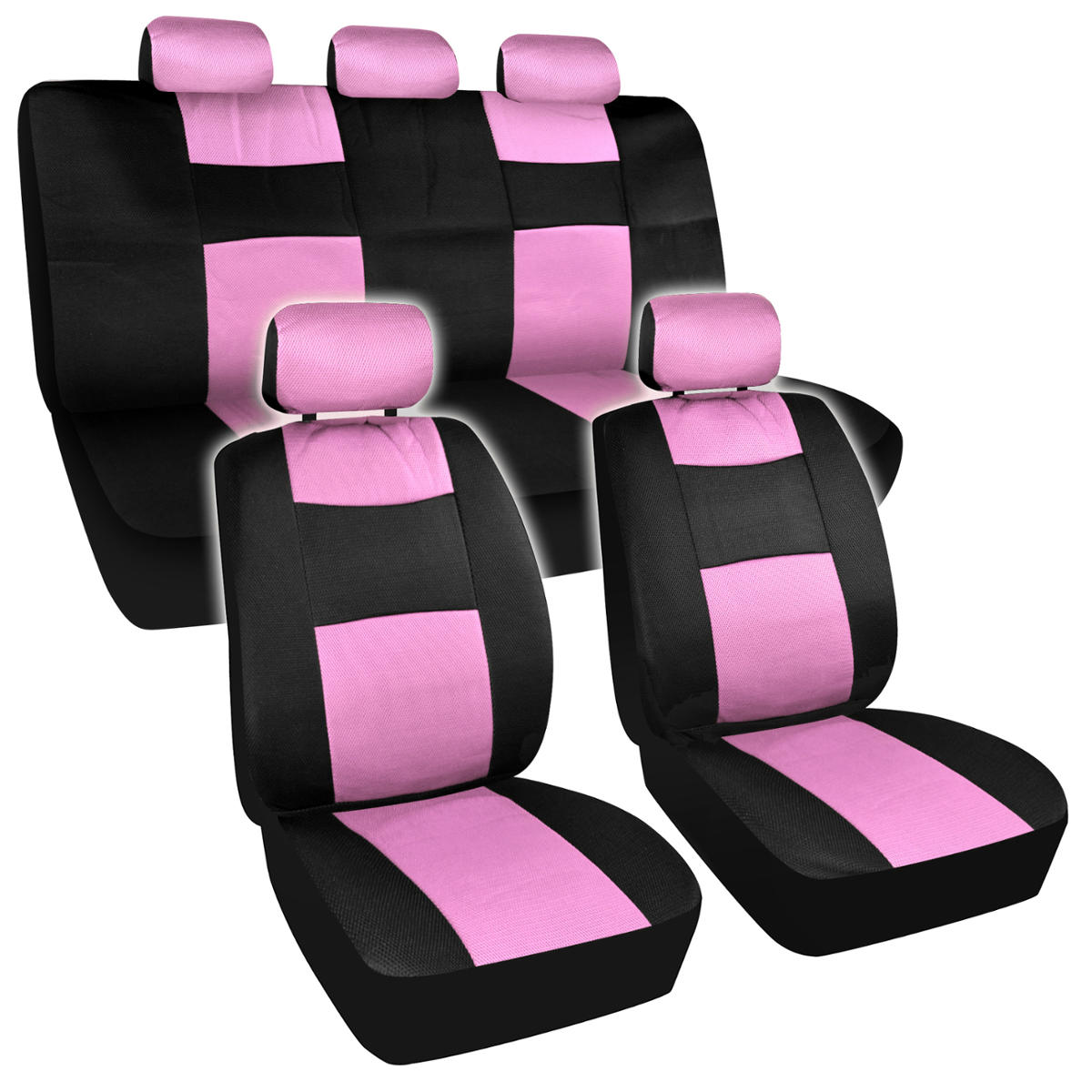 chair covers pink oto massage price list seat black and mesh cloth polyester 2 color