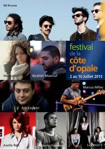 festival de la cote d'opale 2013 juillet
