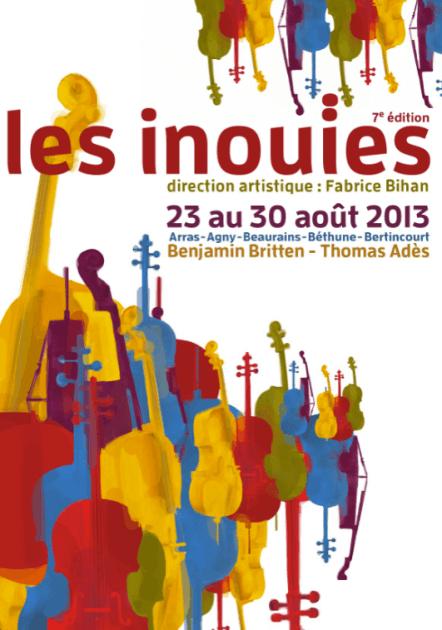Les Inouïes 2013 Arras