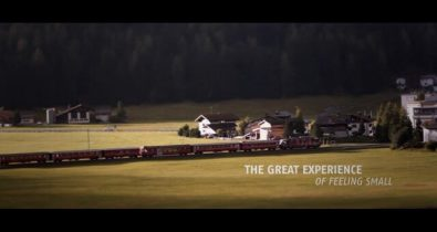 Jeff K-ray - The Great Experience of Feeling Small - Rhaetian Railway