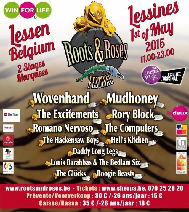 roots & roses festival 2015 belgique lessines cacestculte