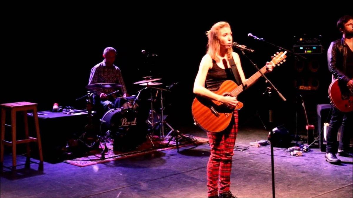 Liz Cherhal était en concert au Poche à Béthune, 2015