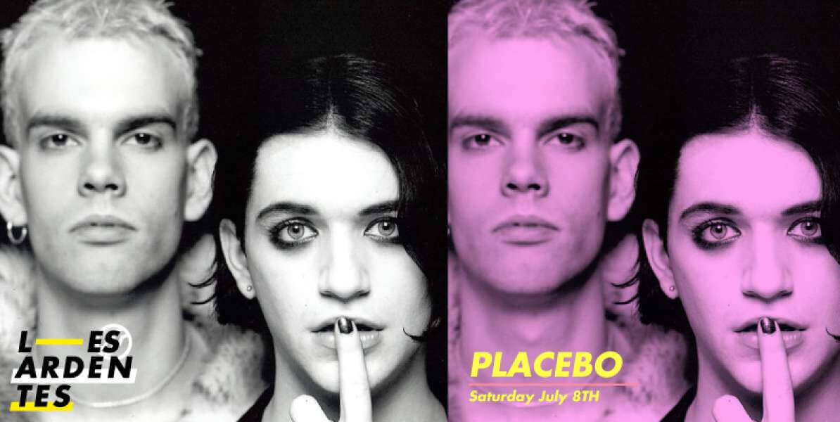 les ardentes 2017 festival placebo