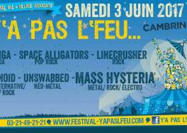 festival y'a pas l'feu 2017 4e edition space alligators cambrin 62