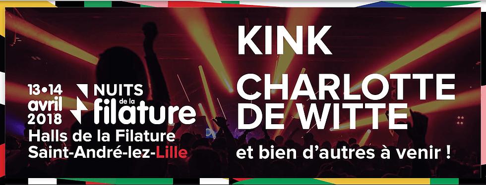 Les Nuits de la filature 2018 kink charlotte dewitte festival ça c'est culte electro concerts saint andre lez lille