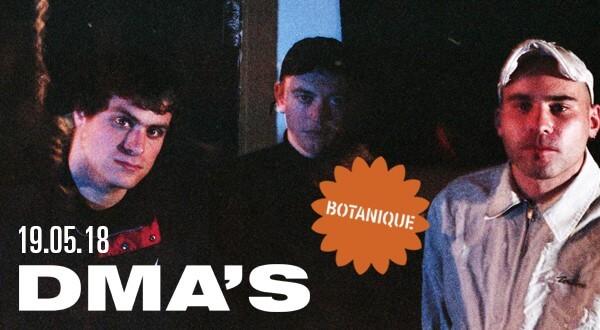 DMA's L'un des meilleurs groupes de rock australien,DMA's, revient au BotaniqueLes tickets sont en vente dès maintenant !