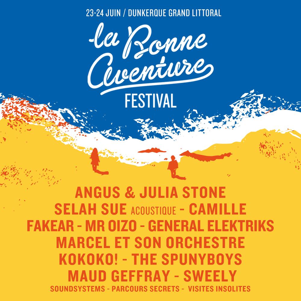 La bonne aventure 2018 dunkerque festival cacestculte billtterie